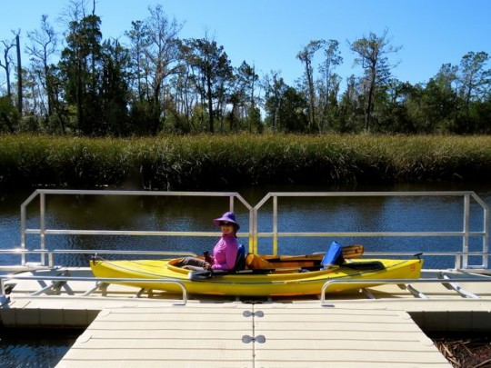 Cool Kayak Launch On The Ochlockonee River