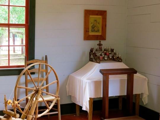Altar In A Cajun Home