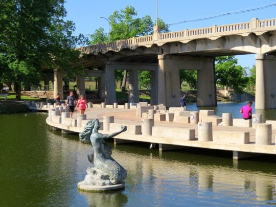 Riverwalk Along The Concho River