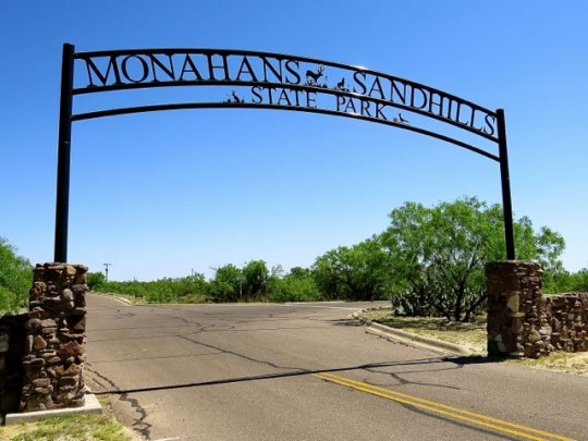 Fancy Entrance To Monahans Sandhills State Park