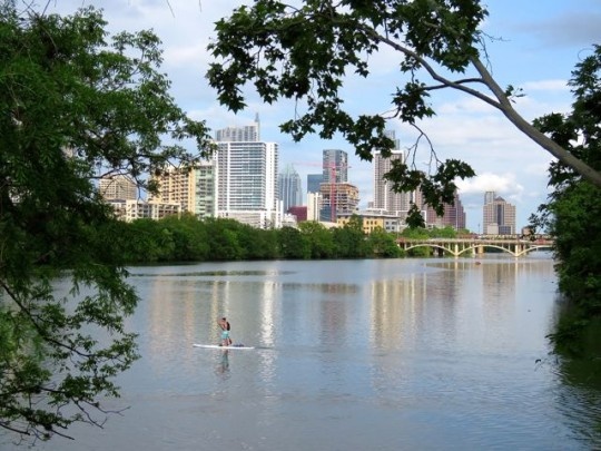 View From Zilker Park