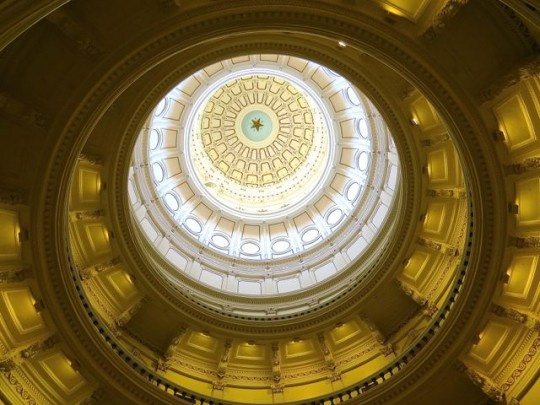 The Capitol Rotunda Dome