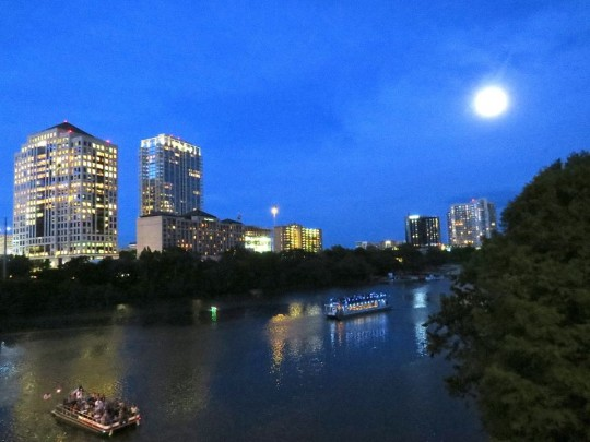 Night Shot In Austin, TX