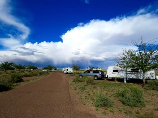Campsite At Homolovi State Park