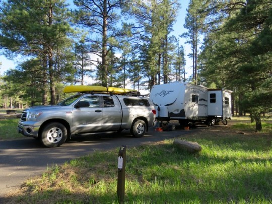 Pine Grove Forest Service Campground, Flagstaff