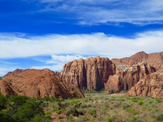 Beautiful Red Rock Cliffs