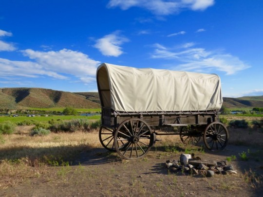 On The Oregon Trail