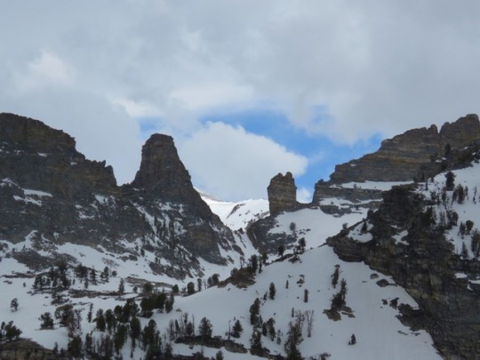 Chimney Rocks Near Angel Lake