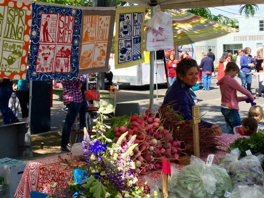 At The Boise Farmers' Market