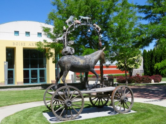Boise Outdoor Sculpture Garden