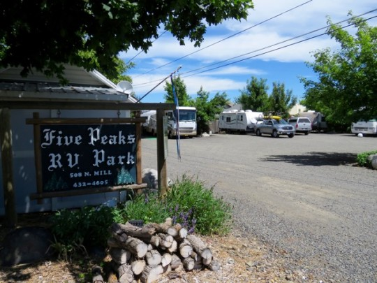 Cozy Site At Five Peaks RV Park