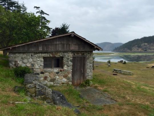 Rustic Cabin On Spencer Spit