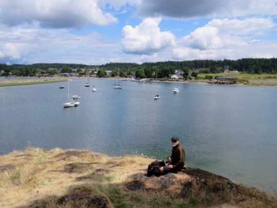 Overlooking Fisherman's Bay