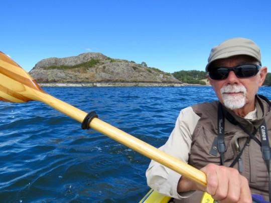 Kayaking One Of Many Bays On Lopez