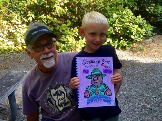 Findlay Earned His Jr. Ranger Badge