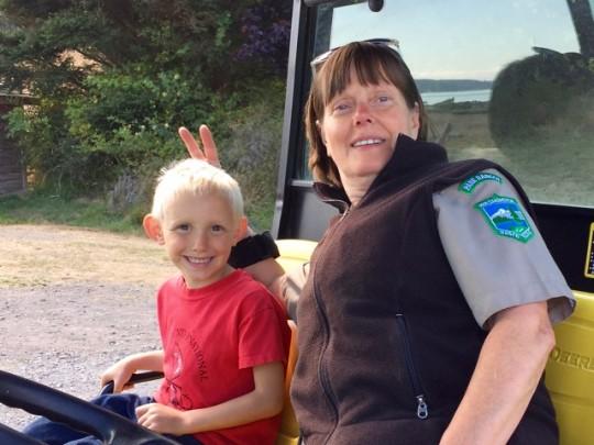 Ranger Tina And Findlay
