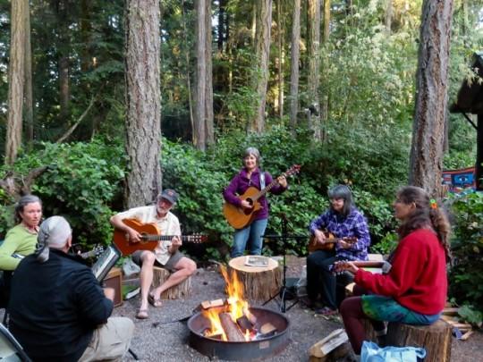 An Evening Of Music Around The Fire