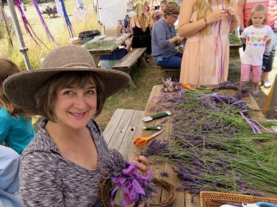 Making A Lavender Wreath