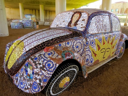 Mosaic VW On The Riverwalk, San Angelo, Texas