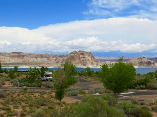 Wahweap RV Park, Lake Powell, Arizona