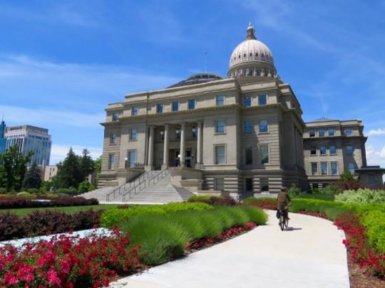 Biking In Boise, Idaho