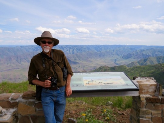 Overlooking Hells Canyon, Eastern Oregon