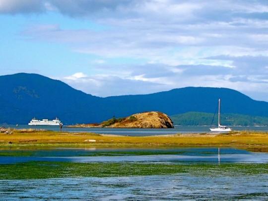 Spencer Spit, Lopez Island, Washington