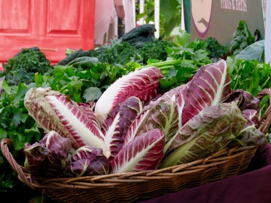 A New Variety Of Radicchio At The Market