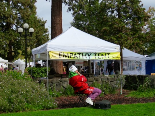 The Empathy Tent, Only In Eugene