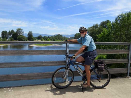The Willamette River Bike Trail