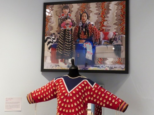 Tribal Dress Decorated With Elk Teeth