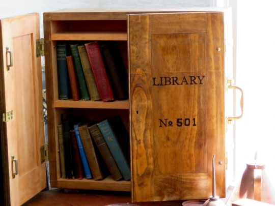Library In A Box Delivered By Tenders
