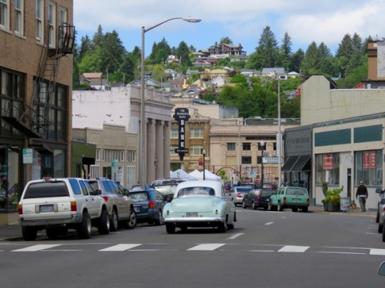 Picturesque Downtown Astoria