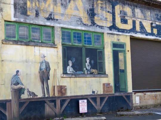 Waterfront Murals Of Days Gone By