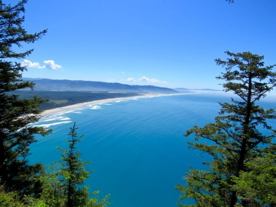 Gorgeous Views Of Cape Kiwanda From Cape Lookout