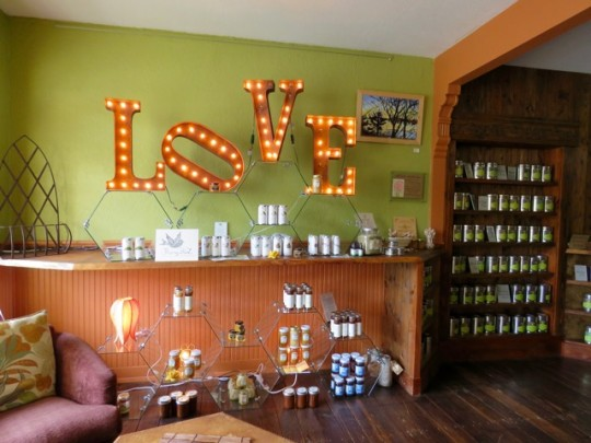 The Beehive Artisan Tea Shop, Nehalem