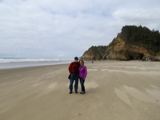 Breezy Day At Hug Point