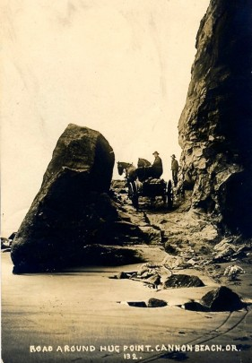 Hug Point Road In The Early 1900s