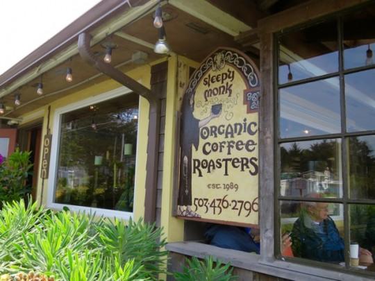 Sleepy Monk Coffee Roasters In Cannon Beach