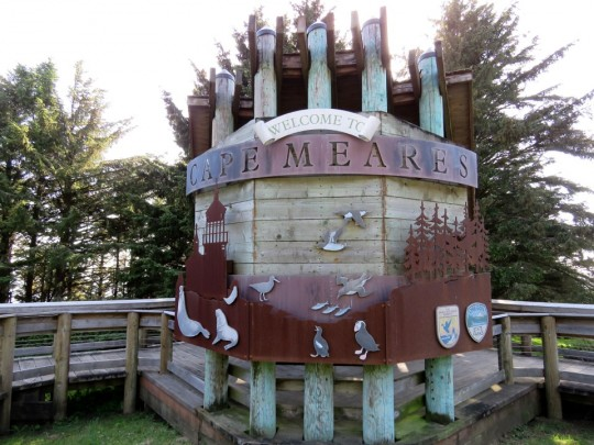 Entrance To Cape Meares